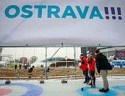 Zahájení olympijského festivalu u Ostravar Arény v Ostravě.