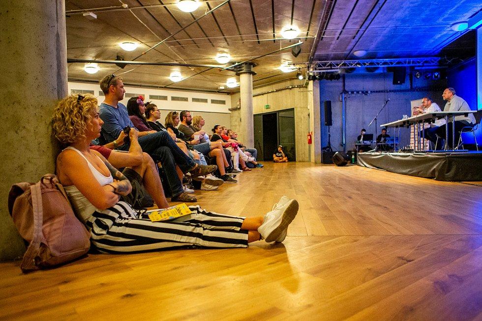 Hudební festival Colours of Ostrava 2019 v Dolní oblasti Vítkovice, 17. července 2019 v Ostravě. Na snímku Jakub Szántó.