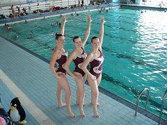 Akvabely aneb synchronizované plavání nyní začíná i v plaveckém oddíle ve Frýdku-Místku.