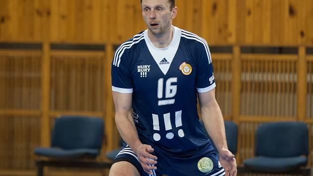 Na snímku blokař Tomáš Široký.