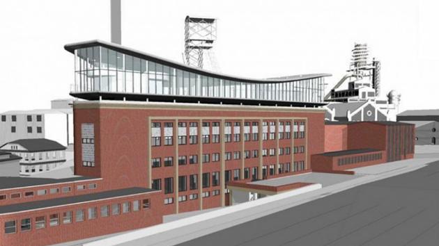 KOFOLA bude mít své nové sídlo a muzeum pro návštěvníky v budově Nových koupelen vedle Heligonky v části Hlubina.