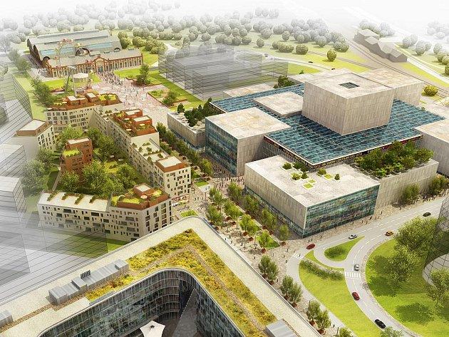 Na jaře za dva roky by měla být dokončena první etapa výstavby Nové Karoliny, tedy velké obchodně-zábavní centrum, kancelářský objekt či bytový dům a pěší bulvár.