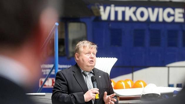 Majitel strojírenské skupiny Vítkovice Jan Světlík.