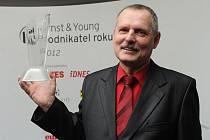 Podnikatelem roku 2012 v Moravskoslezském kraji se stal ředitel společnosti Gascontrol Mieczyslaw Molenda.