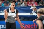 Turnaj Světového okruhu v plážovém volejbalu - semifinále, 24. června 2018 v Ostravě. Na snímku Brandie Wilkerson.