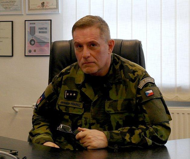 VELITEL KVV Ostrava, plukovník Jaroslav Hrabec.