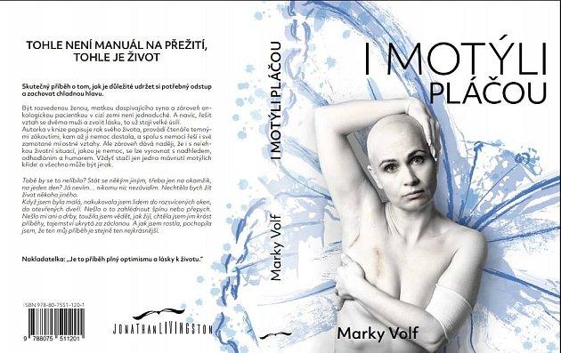 Markéta Volfová, autorka autobiografického románu Imotýli pláčou.