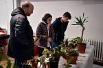 Rostlinný bazar v Galerii výtvarného umění v Ostravě.
