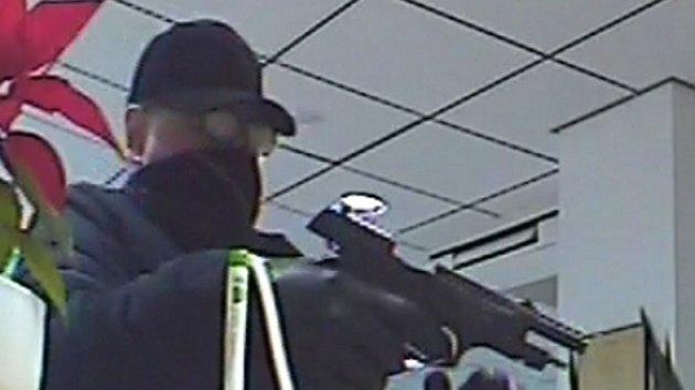 Policie pátrá po muži, který přepadl banku v Ostravě
