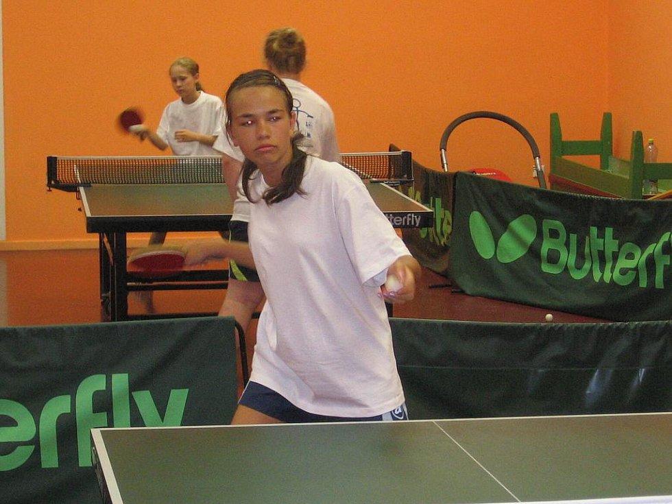 Materiální vybavení pro mladé stolní tenisty je projekt Rady reprezentantů.