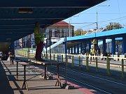 Rekonstrukce Frýdlantských mostů v Ostravě, říjen 2017