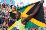 Červen 2009: Fenomenální jamajský sprinter Usain Bolt vytvořil na Zlaté tretře nový rekord v běhu na 100 metrů: 9,77 sekundy.