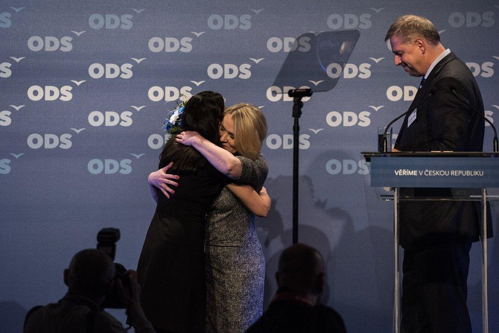 Snímek z 27. kongresu ODS v Ostravě.