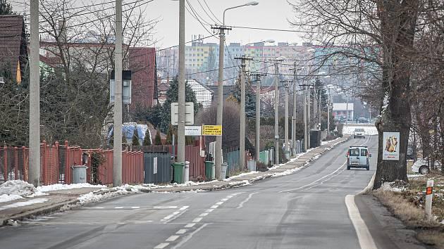 Městská obvod Nová Bělá, 28. ledna 2021 v Ostravě.