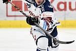 45. kolo hokejové extraligy mezi HC Vítkovice Ridera - HC Dynamo Pardubice v Ostravě dne 14. února 2020. Peter Šišovský z Vítkovic.
