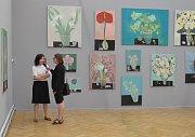 Antonín Střížek a Hana Puchová vystavují v ostravském Domě umění.