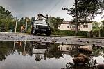 Přívalové deětě na Rychnovsku