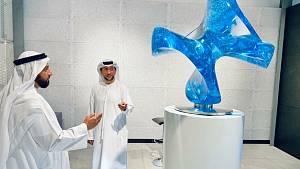 Expozice lázní Darkov na EXPO 2020 v Dubaji.