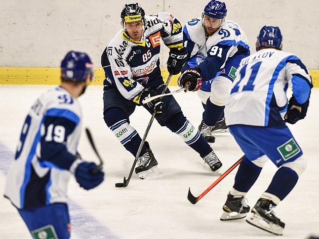 Hokejisté Vítkovic prohráli v prvním přípravném zápase s Dynamem Minsk 3:5.