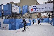 Olympijský festival v Ostravě, 12. února 2018. Disciplína běžky.