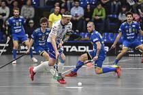 Florbalový zápas mezi FBC Ostrava - Chodov, 15. března 2019