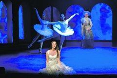 Patricia Janečková v roli Julie (alternuje s Martinou Šnytovou) v muzikálu Romeo a Julie, který má dnes světovou premiéru v ostravském Divadle Jiřího Myrona.