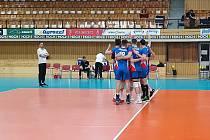 V květnu české volejbalisty prověřilo Rakousko. Tým trenéra Jiřího Nováka první zápas v Českých Budějovicích  vyhrál 3:0, ve druhém soupeři podlehl 2:3.