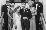 Snímek ze svatby Adriana Wowry.