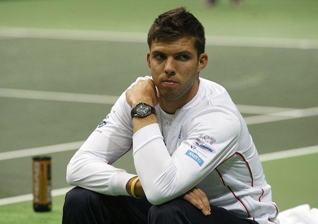 Dvacetiletý Jiří Veselý je vnímán jako budoucnost českého tenisu.