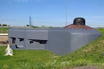 Válečný obranný bunkr v Bohumíně Na Trati z roku 1939