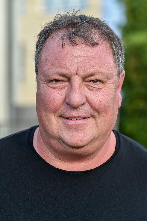 Fotbalový klub - Spolek SK Brušperk, 26. srpna 2020 v Brušperku. Pavel Prejda (předseda klubu)