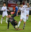 Finále fotbalového poháru MOL Cupu, Baník Ostrava - Slavia Praha 22.května 2019 v Olomouci. Na snímku Robert Hrubý zBaníku Ostrava.