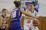 Basketbalový turnaj žen Memoriál Jiřího Jurdy: SBŠ Ostrava - Young Angels Košice, 8. září 2019 v Ostravě.