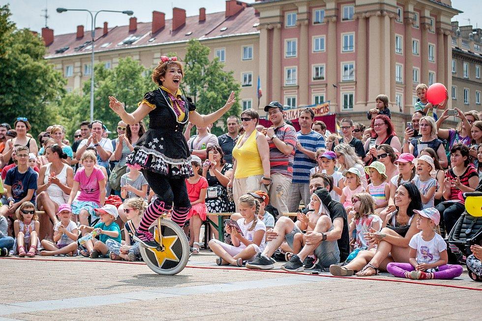 Cirkulum Poruba, 9. června 2018 v Ostravě.