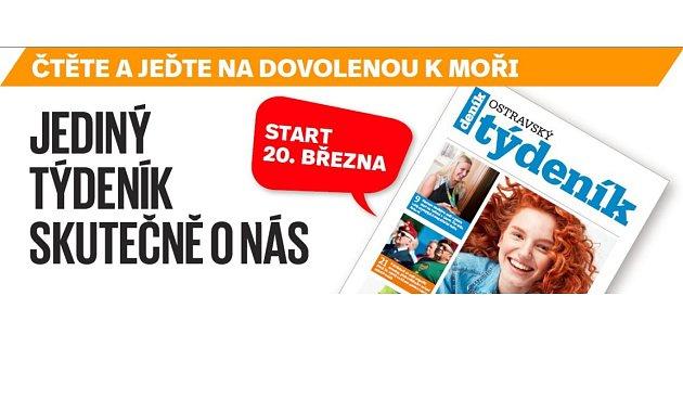 Ostravský týdeník teď budete každé úterý nacházet jako speciální přílohu uvnitř Moravskoslezského deníku..
