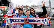 Otevření fanzóny MS v hokeji 2015 u ČEZ Arény v Ostravě.