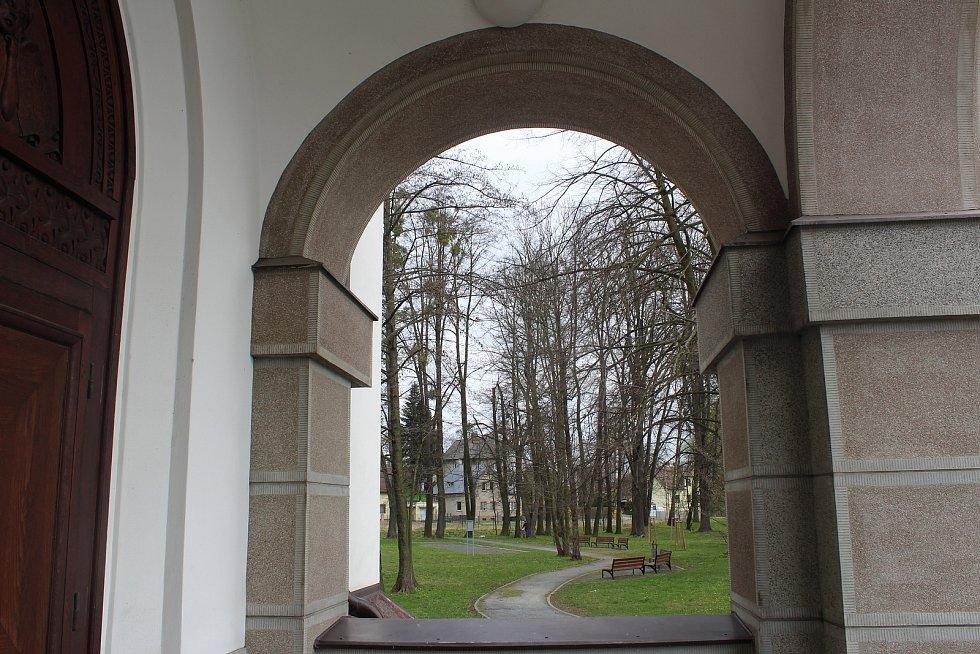 Kostel Krista Krále ve Svinově.