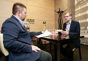 Petr Fiala v rozhovoru pro Deník.
