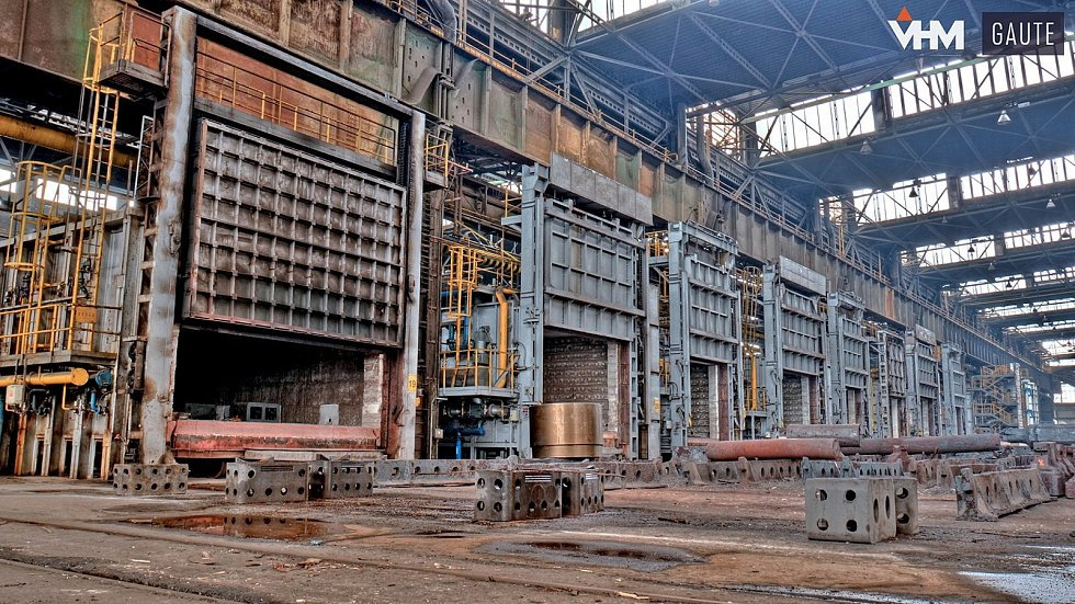 Společnost Vítkovice Heavy Machinery má tradici sahající až do roku 1828. Společnost je dodavatelem dílů pro jadernou, vodní a větrnou energetiku, dále do těžebního či lodního průmyslu. Foto: VHM