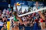 J&T Banka Ostrava Beach Open - zápas o 3. místo ženy, 6. června 2021 v Ostravě. Barbara Seixas de Freitas (BRA).
