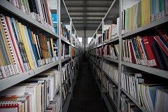 Vědecká knihovna v Ostravě. Ilustrační foto.