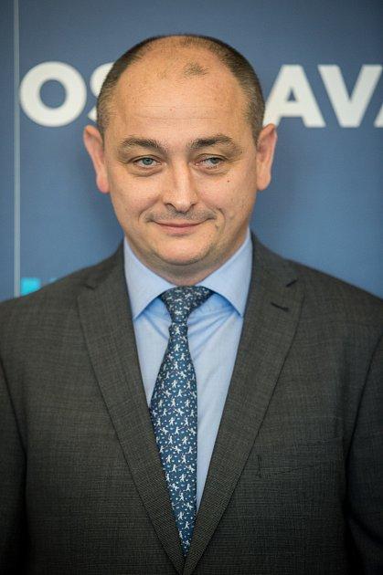 Zastupitelé Ostravy volili na ustavujícím zasedání 7.listopadu 2018nové vedení města. Na snímku Radim Babinec (ANO) – náměstek (majetek, veřejné zakázky, sdružené nákupy).