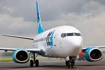 Letadlo Boeing 737-300 společnosti CCA