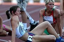 ME v atletice do 23 let v Ostravě. Vlevo Kateřina Cáchová