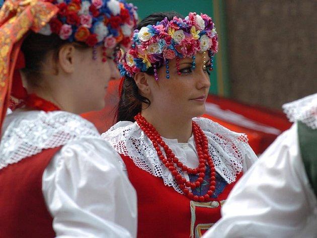Polský folklór na Kuřím rynku
