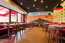 Saloon Pub, část Route-66