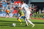 Utkání 27. kola první fotbalové ligy: FC Baník Ostrava - FK Teplice, 7. dubna 2019 v Ostravě. Na snímku (zleva) Alois Hyčka, Milan Jirásek.