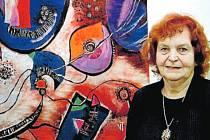 Věra Tošenovská, akademická malířka