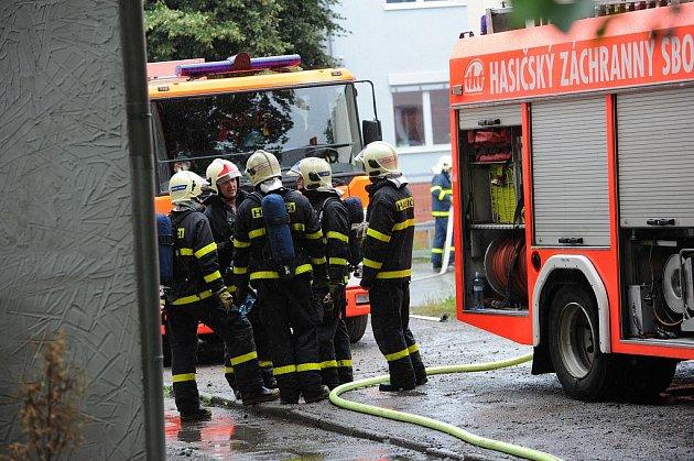 Požár ostravské ubytovny