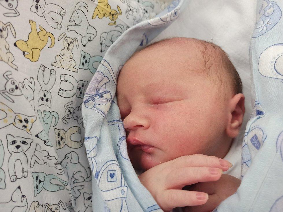 Oliver Kantor, Jablunkov, narozen 6. července 2021, míra 51 cm, váha 3750 g Foto: Gabriela Hýblová